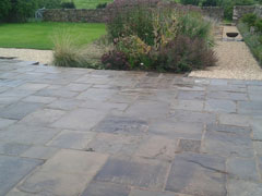 Reclaimed Paving
