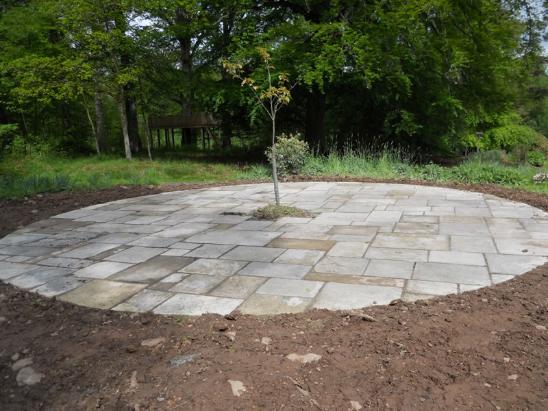 Reclaimed Paving 1